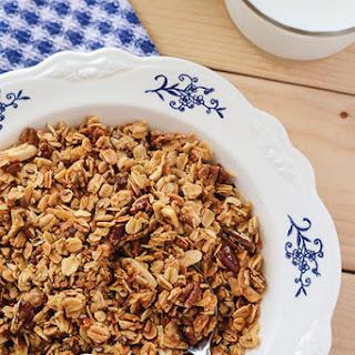 Homemade Granola Cereal.