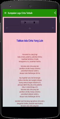 Kumpulan Lagu Cinta Terbaik - screenshot
