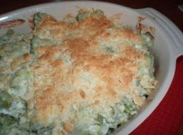 Broccoli and Artichoke Casserole