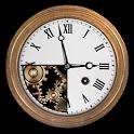 Grandpa's clock + Live walpapers icon