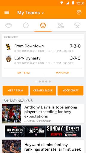 ESPN Fantasy Sports screenshot 5
