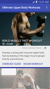 Ultimate Upper Body Workouts screenshot
