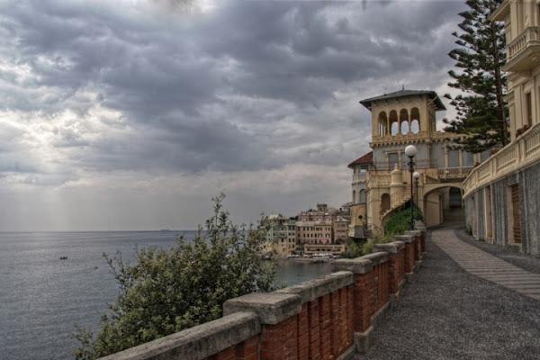 Borgo marinaro d'inverno di Sergio Acerbi