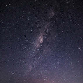Southern Hemisphere by M. Tuflichun Alfath - Landscapes Starscapes ( mountain, sky, southern, stars, south )