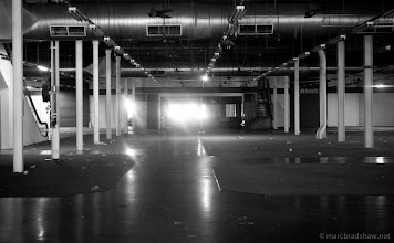 Photo: Inside Dimmys, all gone