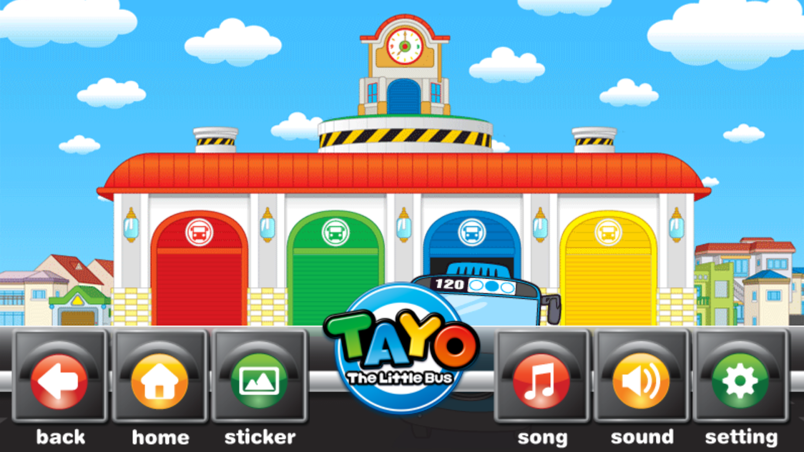 Tayo's Driving Game- screenshot