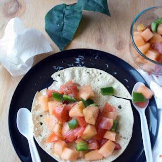 Tomato And Cantaloupe Salad Recipes