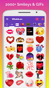 ???? WhatsLov: Smileys of love, stickers and GIF