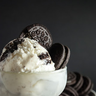 No Churn Cookies and Cream Ice Cream
