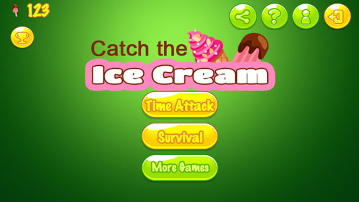 Ice Cream Catch for Hot Summer