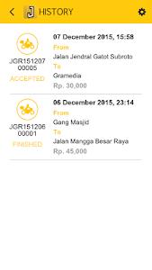 Jeger Taksi screenshot 1