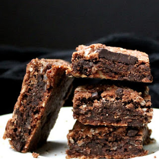 Chocolate Coconut Cookie Bars, vegan, gluten-free.