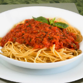 Meatless Meat Sauce