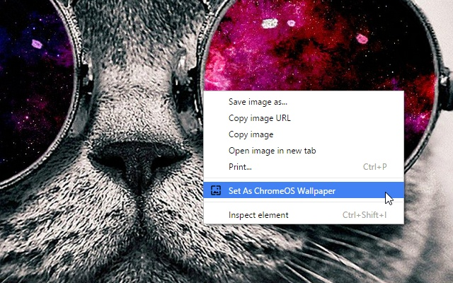 Set Image As Chrome Os Wallpaper