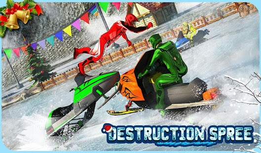 Snowmobile Crash Derby 3D- screenshot thumbnail