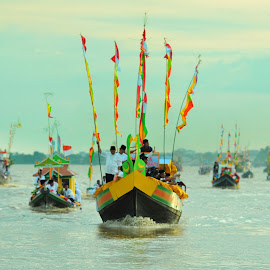Islamic New Year commemoration event by Oji Kulup - Transportation Boats