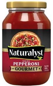 salsa naturalyst pepperoni 500gr