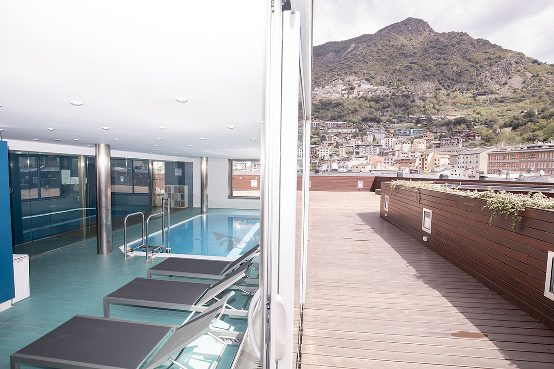 Gran terraza con vistas