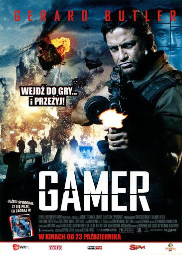 Przód ulotki filmu 'Gamer'