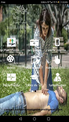 PREMIERS SECOURS SST screenshot