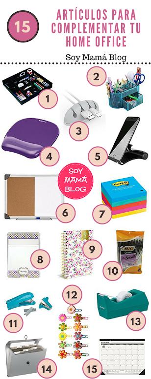 15 artículos para complementar tu home office