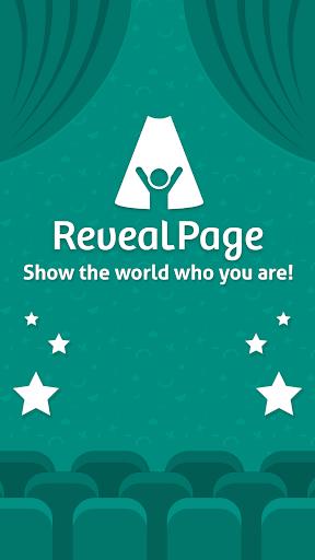 reveal page screenshot 1