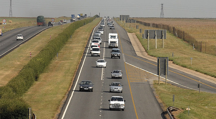 The general rule is that for every two hours of driving, you should have a 15-minute break. Picture: ROBERT BOTHA