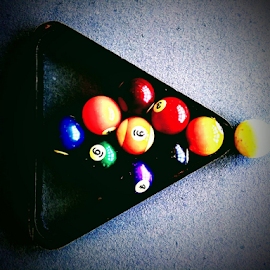 Vintage Billiards by Carlo McCoy - Sports & Fitness Cue sports (  )