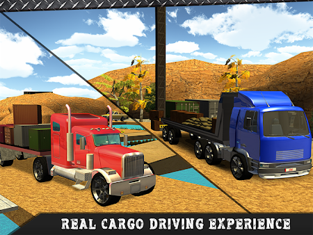Truck Transporter Driving 3D 1.3 screenshot 70110