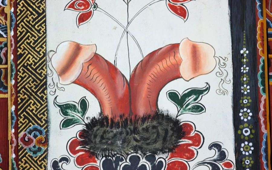 Chimi Lhakhang, o templo dedicado ao pênis