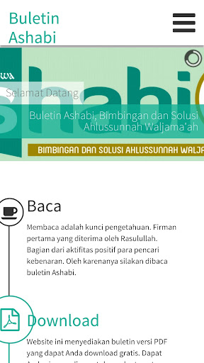 Buletin Ashabi Web View
