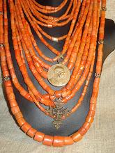Photo: <BEREHYNYA> {Great Goddess Protectress} unique one-of-a-kind statement jewellery by Luba Bilash ART & ADORNMENT  NFS
