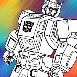 ????Colorbook for Autobots Robot