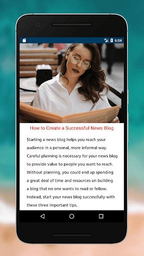 Blogging Tips (2020) screenshot 10