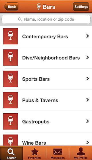 ShoutOut! Bar & Club Directory- screenshot