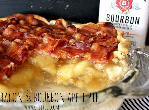 Bacon & Bourbon Apple Pie Recipe