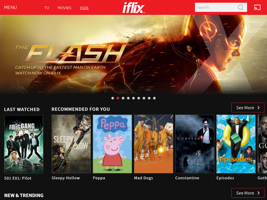#8. iflix (Android)