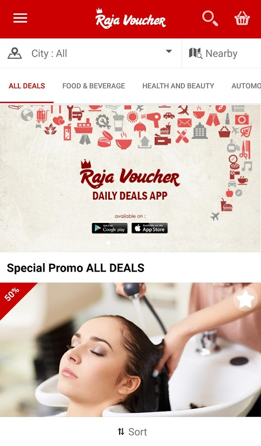 KLIK Raja Voucher- screenshot