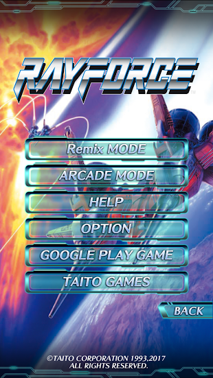 RAYFORCE- screenshot thumbnail