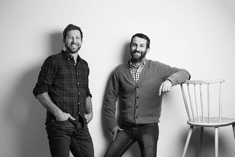 Houtlander co-designers Phillip Hollander and Stephen Wilson. Picture: SUPPLIED