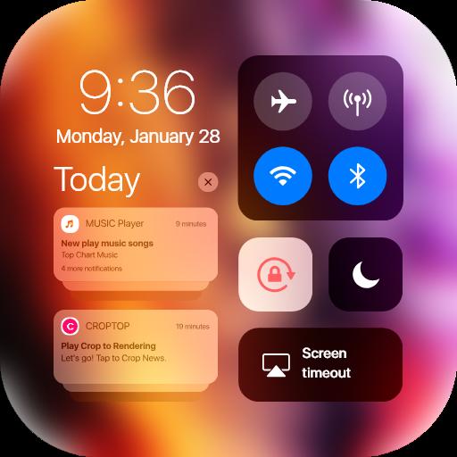 iCenter iOS 13 - Control Center IOS12 & Notify 2 3 + (AdFree) APK for