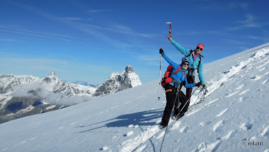 Photo: Matterhorn from Breithorn