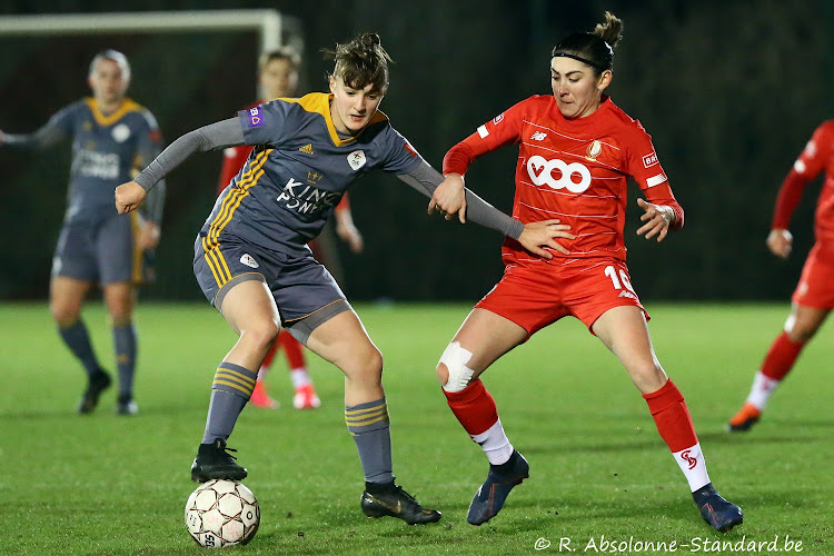 Un nouveau duel à distance entre le Standard Femina et Anderlecht