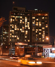 Photo: The Standard Hotel above the High Line in the Meatpacking District.