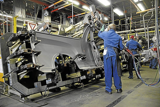 A car assembly plant in Port Elizabeth. Picture: SUPPLIED