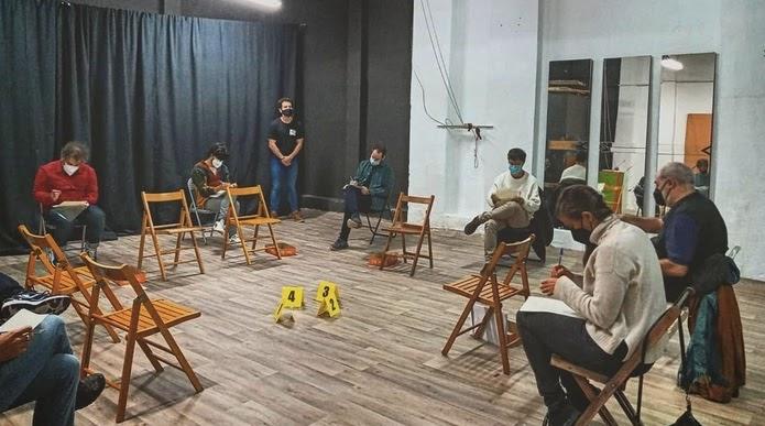 Teatro Juicio al extranjero