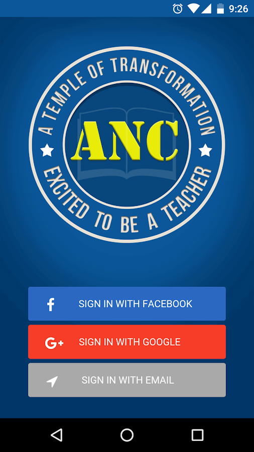 ANC- screenshot