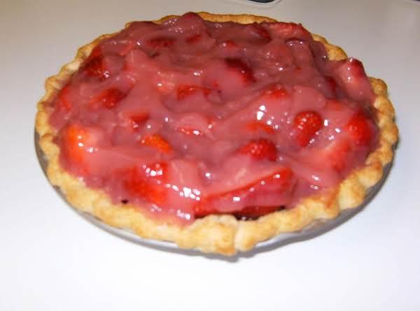 Strawberry Glaze Pie-grannys Recipe