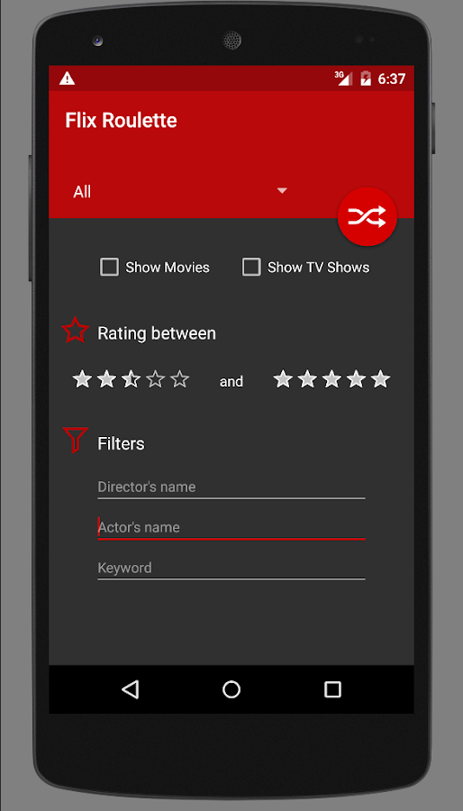 Flix Roulette - screenshot