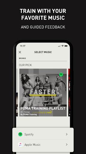 PUMATRAC Home Workouts, Training, Running, Fitness screenshots 7